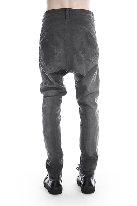 Coated Denim Pants - 182101