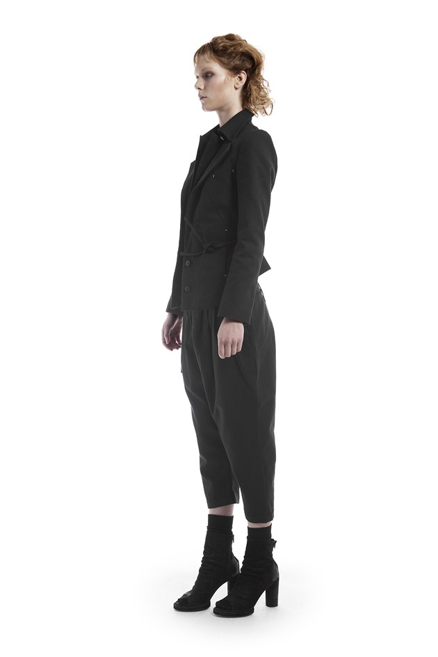 Tailored canvas pants - 182602