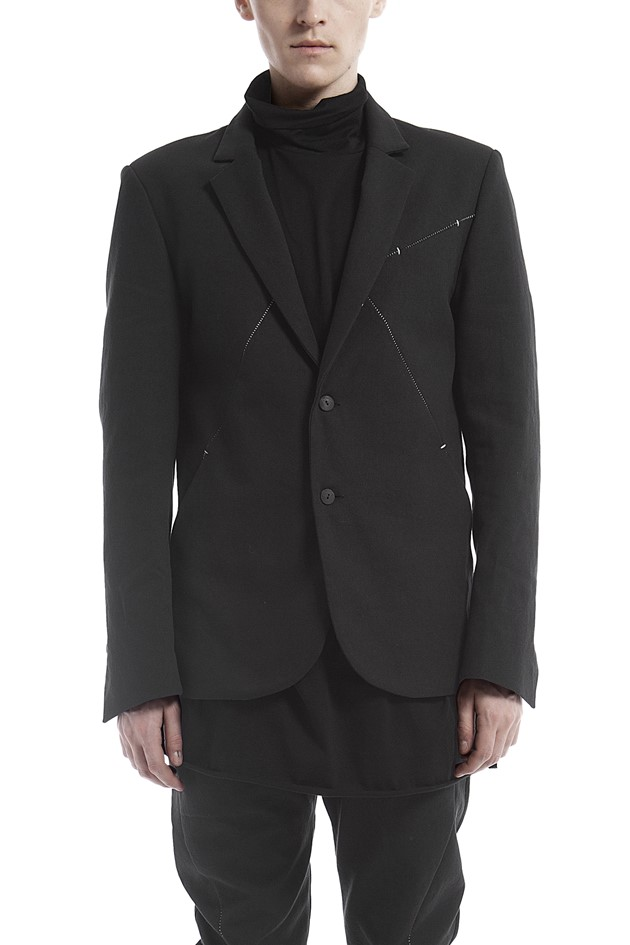 Tailored canvas jacket - 182419-C