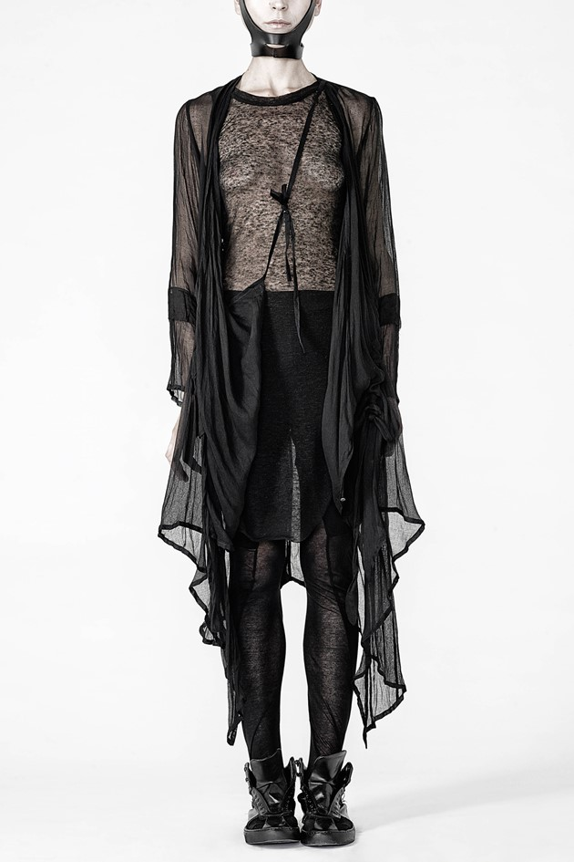 Long sheer cardigan - 414766